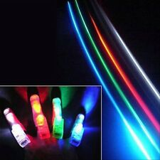 100 Finger Lights LED Beams Party Supplies Laser Rings Raves Neon Glow Lamps EDC
