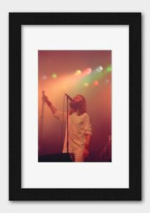 Genesis - Phil Collins On Stage at the Liverpool Empire 9 January 1977 Poster