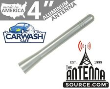 "**SHORT** 4"" ALUMINUM SILVER ANTENNA MAST-FITS: 2006 Pontiac Torrent"