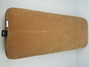 Hugger Mugger Brown Yoga Bolster Cotton Filled Support Pillow