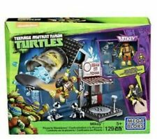 Mega Bloks DMX51 Nickelodeon TMNT Mikey Pizzeria Showdown 129pc Turtles Set