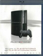 Welcome to Playstation 3 PS3 & Playstation Network Play Beyond Blu-ray Disc