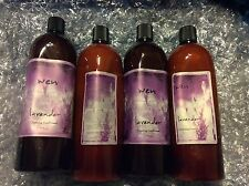 WEN CLEANSING CONDITIONER LAVENDER 4/32oz=128oz(1GALLON)NEW SEALED with pump