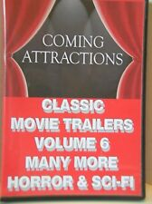 CLASSIC MOVIE TRAILERS VOLUME 6 - Many More Horror & Sci-Fi  *NEW*