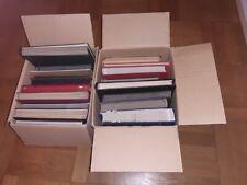 Karton2 Gebrauchtalben:  22 Briefmarken- Alben gebraucht in 2 Kartons