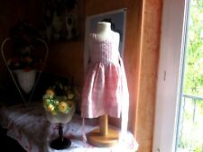 robe cyrillus 6 mois bretelles carreaux  tres mimi ideal printemps