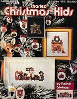Charted Christmas Kids | Leisure Arts 175 Ornaments Cross Stitch