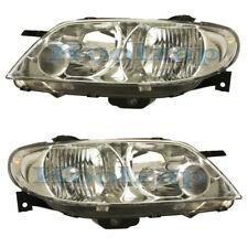 02-03 Protege 5 Headlight Headlamp Head Light Lamp Left Right Side Set PAIR DOT