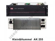 Klein&Hummel AK 255 250W sinus Power Amplifier mono