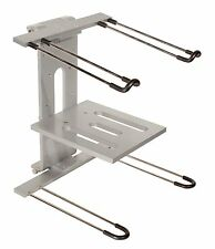 Ultimate Support JS-LPT400 Aluminum Double-tier, Multi-purpose Laptop/DJ Stand