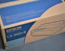 Epson LX-300+II NEW BOX Full set Blank warranty card