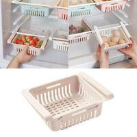 Adjustable Drin Storage Rack Refrigerator Partition Layer Organizer for Kitchen