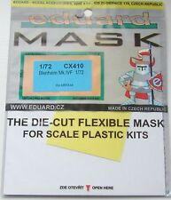 Eduard 1/72 CX410 Canopy Mask for the New Airfix Bristol Blenheim Mk IVF kit