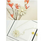 New Fashion Women 925 Silver Gold Plated Daisy Flower Chain Bracelet Jewelry