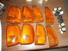 8 X FRECCIA DESTRA FANALINO ANTERIORE FIAT TIPO 88-90 FRONT TURN LIGHTS STOCK