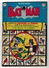 DC COMICS BATMAN GOLDEN AGE 58 Penguin  APPEARANCE FN- 5.0