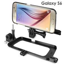 Tripod Mount Hülle für Samsung Galaxy S6 Stativ GoPro Selfie Stick Adapter Case