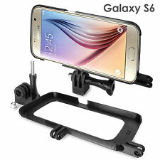 Tripod Mount funda para Samsung Galaxy s6 trípode GoPro selfie Stick adaptador Case