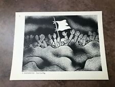 More details for original 1944 ww2 double sided print !  a. hoffmeister - their last flag