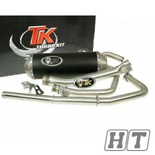 Auspuff Auspuffanlage Turbo Kit X - Road für Hyosung GT250 Maxi Roller Scooter