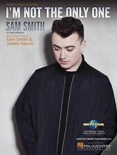 I'm Not the Only One Sheet Music Piano Vocal Sam Smith NEW 000141863