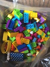 LEGO Compatible Mega Bloks Mini Blocks - Mixed Lot: Approximately One Gallon
