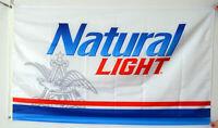 Natural light Beer 3x5 Flag New Banner Man Cave Garage Decor 3x5 Feet
