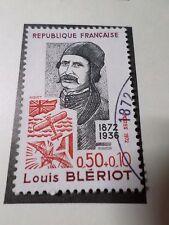 FRANCE 1972, timbre 1709, CELEBRITY LOUIS BLERIOT, AVIONS, oblitéré, VF STAMP