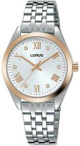 Lorus Women's Bracelet Strap Watch, Silver RG256SX9