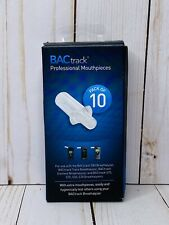 Bactrack Professional Breathalyzer Mouthpieces 10 Count S80, S75, S70, S50, S30