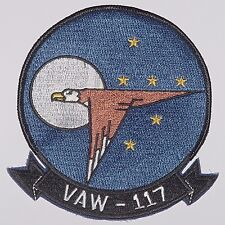 US Navy écusson patch VAW 117 Carrier Airborne Early Warning Aigles... a2543