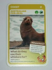 Woolworths Aussie Animals Card - Coast - #2 Australian Fur-seal