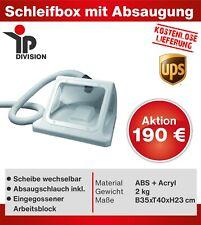 IP Schleifbox Saugbox mit Absaugung Spritzschutz Arbeitsplatz Dental Zahntechnik