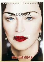 Madonna Madame X Wall Calendar 2021 A4 New Sealed