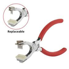 Heavy Duty Leather Hole Punch Plier Hand Pliers Leather Craft Belt Holes Puncher