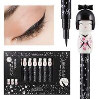 1Pc Kawaii Japanese Doll Liquid Eyeliner Longlasting Waterproof Eyes Makeup ~
