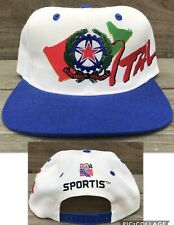 VTG USA World Cup 94 Hat Italia Italy Snapback Hat Soccer Football Spell Out Cap