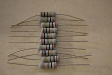 KOA 2W Watts Metal Oxide Resistor 30 200 560 1.5K  22K 51K OHM Lot of 10 pieces