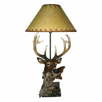 River's Edge Products Table Lamp - Designer Deer