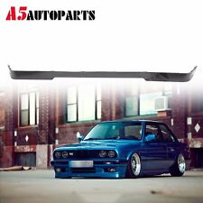 Fit 84-92 BMW E30 3-Series Lower Valance Mtech Style Front Bumper Lip Spoiler PU
