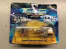 1996 Micro Machines Space Star Wars X-Ray Fleet Boba Fett's Slave I & Y-Wing Sta