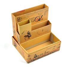 BT Paper Stationery Makeup Cosmetic Desk Organizer Board Fairy Tale Storage Box