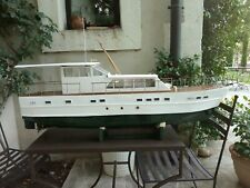 Nice vintage model yacht
