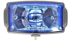 Blau Fernscheinwerfer m. Positionslicht H3 Zusatzscheinwerfer 12 24V Halogen LKW