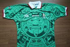 Mexico Soccer Jersey Football Shirt 100% Original EG 1998 World Cup ABA Sport