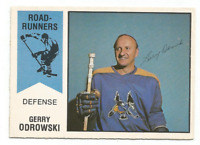 1974-75 O-Pee-Chee WHA #14 Gerry Odrowski Phoenix Roadrunners