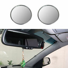 """2x  3"""" Car Blind Spot Rear View Mirrors Rearview Wide Angle Round Convex Mirror"""