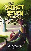 The Secret Seven Adventure by Enid Blyton, Acceptable Used Book (Paperback) FREE