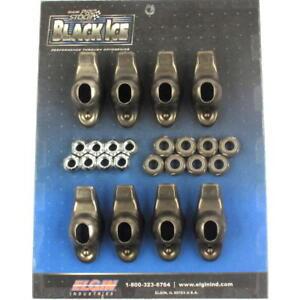 Elgin Engine Rocker Arm Kit ICE410840; 1.5 Steel Long Slot for Chevy 262-400 SBC