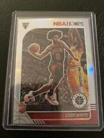 2019-2020 NBA Hoops Premium Stock Coby White Silver Prizm RC Rookie Card #204 🔥